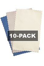 10-Pack Microfiber Lens Cloths