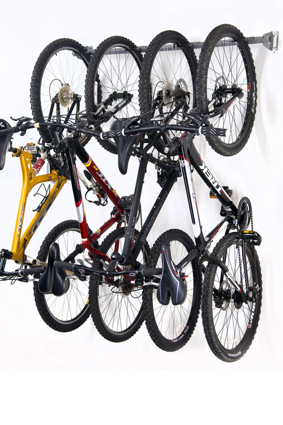 Bike Storage Rack - Hang Up To Four Bicycles