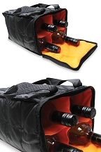4 Bottle Wine Tote