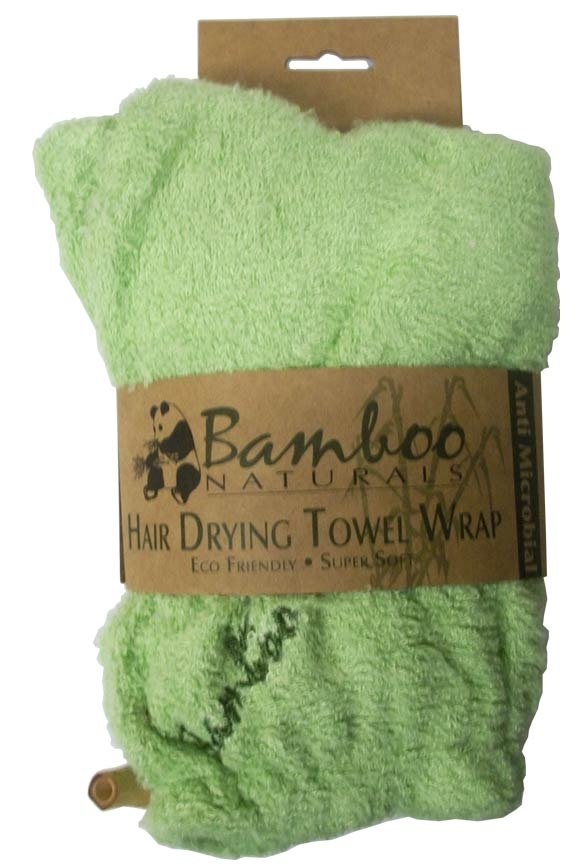 100% Natural Bamboo Hair Drying Towel