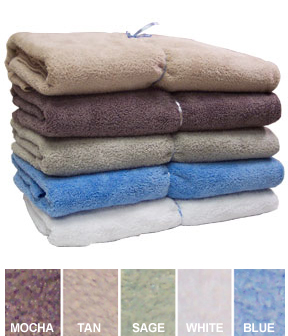 Microfiber Bath Sheet - A super absorbent and extra large bath towel.
