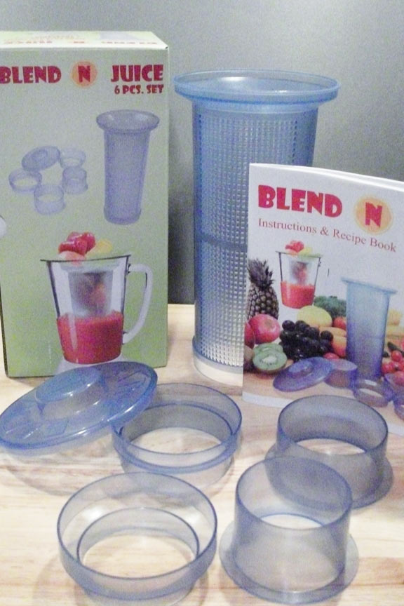 Low cost juicer attachment for your blender.