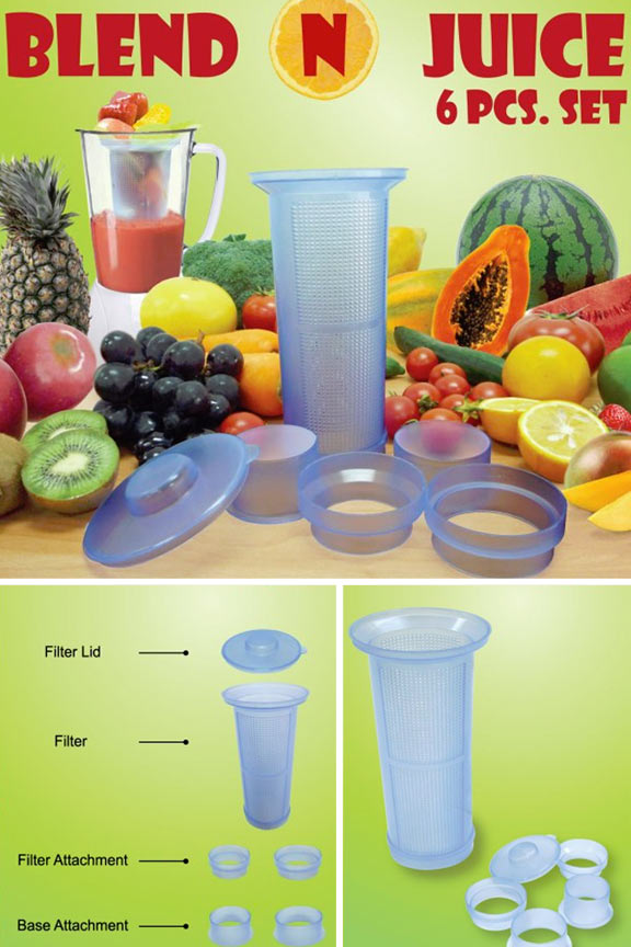 Blend N Juice - Juicer Attachment For Any Blender
