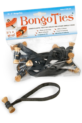 BongoTies - elastic cable ties
