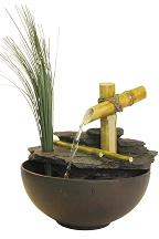 Calming Bamboo Eternity Fountain