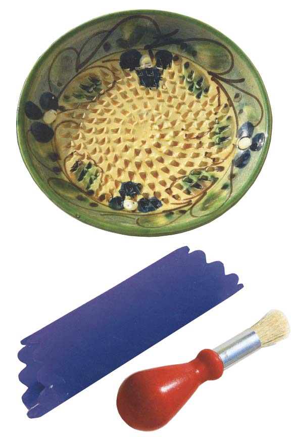 Ceramic Grater Plate . Perfect for hard cheese, ginger, cinnamon, chocolate and more.