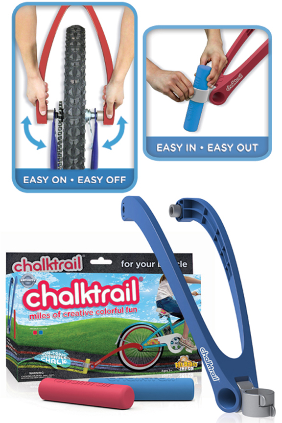 Easy attachment allows kids to take it on or off by themselves.