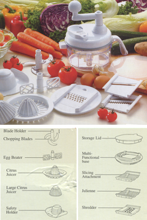 Ultra Chef Express - A 7 in 1 food chopper