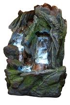 Double Waterfall Cave Fountain