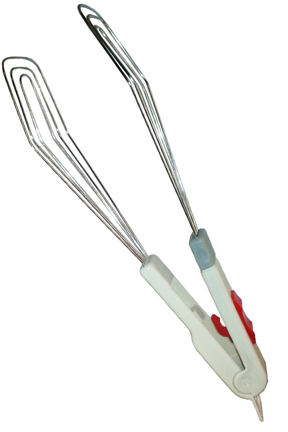 Gripper Flipper Tongs - Handy Chef Tool