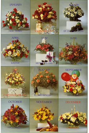 Example Arrangements. Floral Design Flower Arranging System