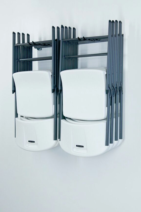 Folding chair storage rack for Chair with storage