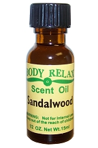 Sandalwood Fragrance Oil (1/2 oz)