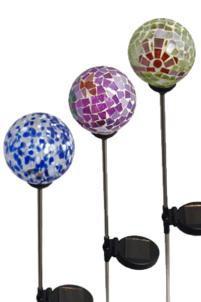 A Color Changing Garden Stake - Solar Powered Outdoor Lighting