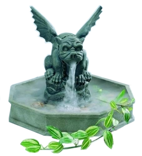Gargoyle Indoor Fountain and Mist Maker