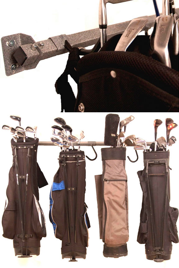 Monkey Bar Large Golf Bag Storage Rack