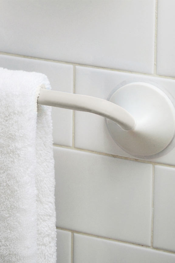 Griipa Friction Mount Towel Bar - Attach almost anywhere.