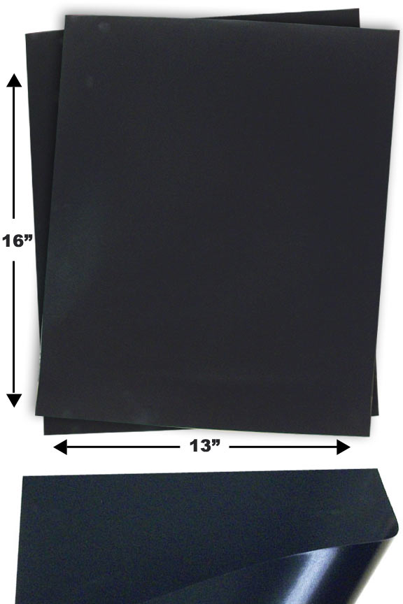 Non Stick BBQ Grill Mat - A reusable mat with non-stick surface.