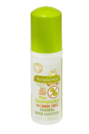 Travel Size Germinator Hand Sanitizer