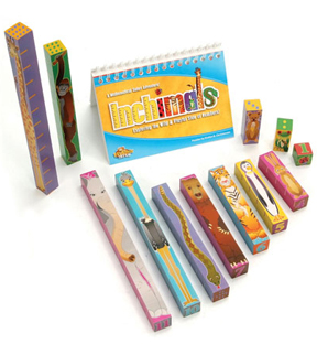 Inchimals - math and counting game
