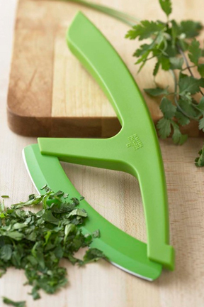 The perfect knife for slicing fresh herbs and vegetables.