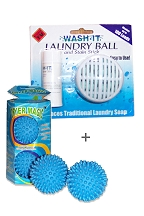 Wash and Dry Combo Pack