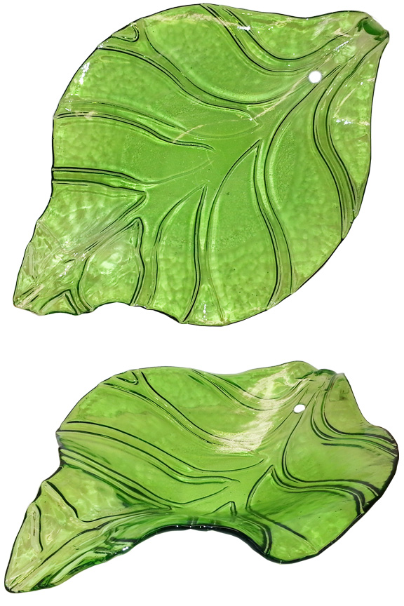 Leaf Shaped Fountain Bowl