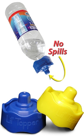 Lil Topper - No Spill Water Bottle Cap