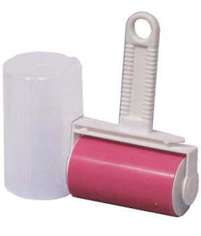 Regular size sticky roller. Washable and reusable.