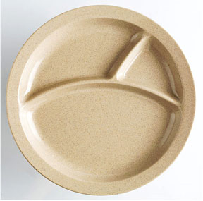 Natural Fiber Dinner Plate For Children. A Safer Alternative to Plastic.
