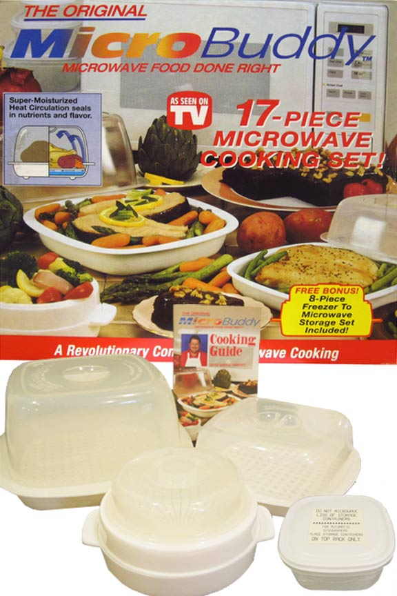 MicroBuddy - Microwave Cooking Set