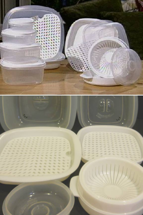 Cook flavorful food and lock in nutrients. Microwave cooking done right!