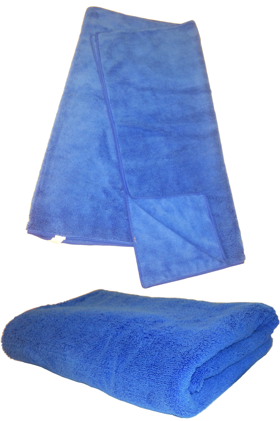 Super absorbent, microfiber bath towel.