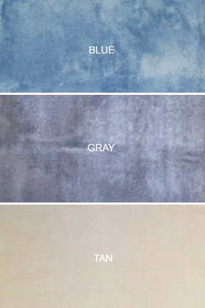Bath mat colors.