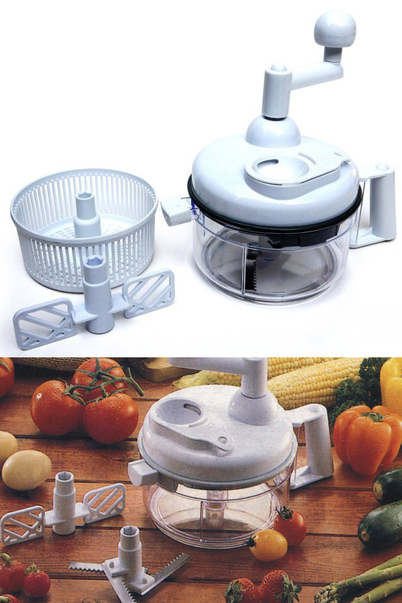 Miracle Chopper - A Salsa Maker and Food Chopper.