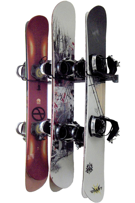 Snowboard Storage Rack - Holds Up To 6 Boards!
