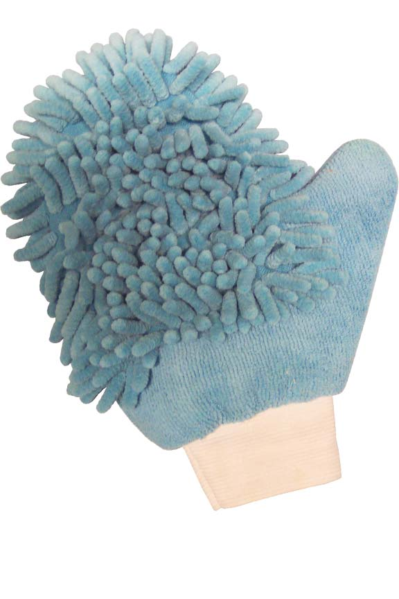 Microfiber Mitten For Cleaning Dog or Cat Paws