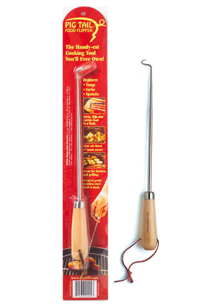Small Pig Tail Food Flipper