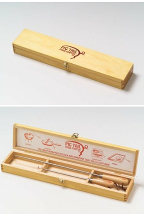 Storage box adds protection and improves presentation.