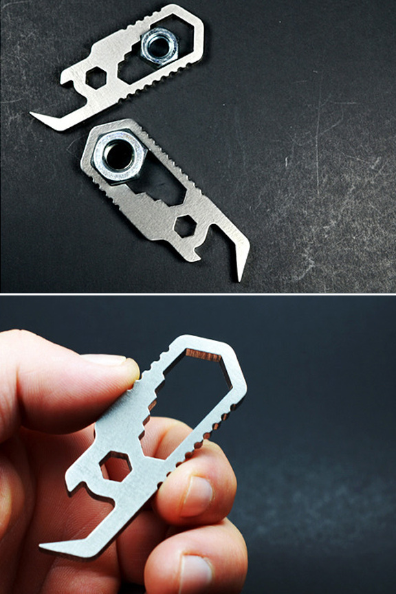 Quality design. Superior Materials. Screwpop Pocket Wrench.