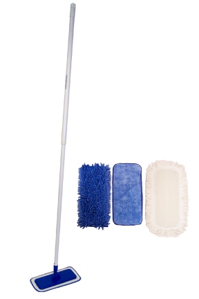 StarFiber Mop Set - 1 mop and 4 pads