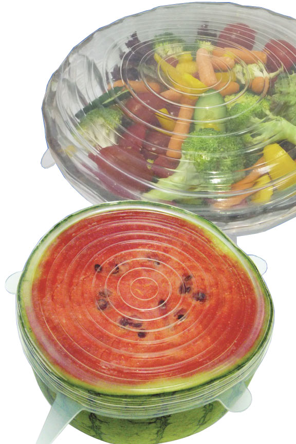Use on bowls and plates, or place directly on foods like watermelon.