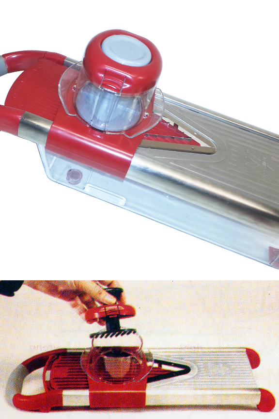 Prevents escaping, and makes slicing any small food easy.