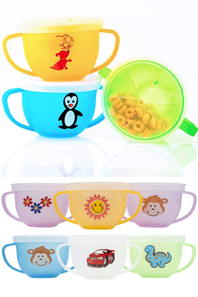 Snack Trap - A no spill toddler snack cup
