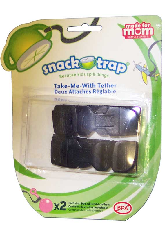 A 2-Pack of straps for cups, bowls, toys and more.