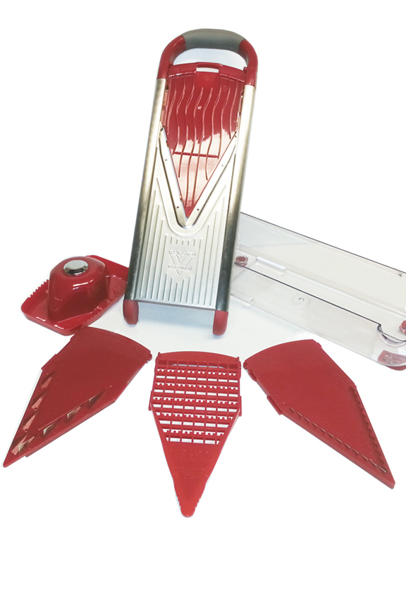 Stainless Steel Pro V Slicer - 7 Piece Set