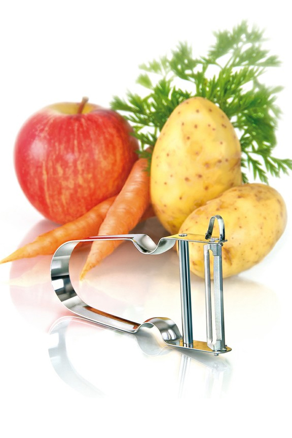 Peel a wide range of foods with this quality tool.