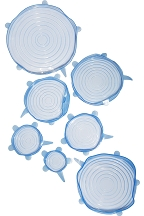 Deluxe Stretch Lid Set (7 Pieces)