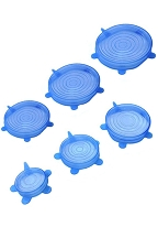Silicone Stretch Storage Lids (6 Piece Set)