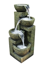 Four Bowls Tiered Fountain
